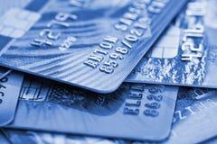 Cartes de crédit Photographie stock