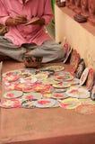 Cartes de Dashavatara, illustration, bishnupur, Inde Photo stock