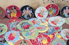 Cartes de Dashavatara, illustration, bishnupur, Inde Images stock