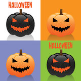 Cartes de Halloween Images stock