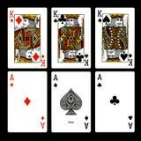 Cartes de jeu Photos stock