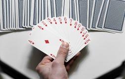 Cartes de jeu Images stock