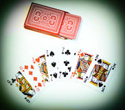 Cartes de jeu Photographie stock
