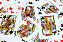 Cartes de jeu Images stock