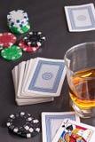 Cartões de jogo Imagem de Stock
