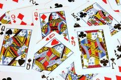 Cartões de jogo Imagens de Stock