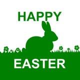 Cartes de Pâques heureuses - illustration Photo stock