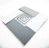 Cartes de papiers de note Photographie stock