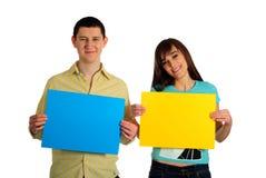Cartes de prise de couples Photos libres de droits