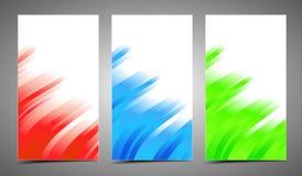 Cartes de professionnel et de concepteur Image libre de droits