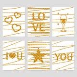 Cartes de Saint-Valentin de St Photos stock