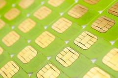 Cartes de SIM Photo stock