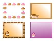 Cartes de sucrerie Images stock