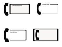 Cartes de téléphone Images libres de droits