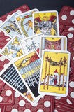 Cartes de Tarot Images stock