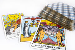 Cartes de Tarot Photo stock