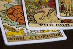Cartes de Tarot Images libres de droits