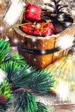 Cartes de vacances pour Noël Photos libres de droits