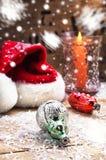 Cartes de vacances pour Noël Photographie stock