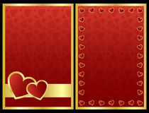 Cartes de Valentine Photos stock