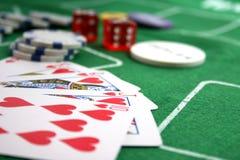 Cartões de vencimento Fotografia de Stock