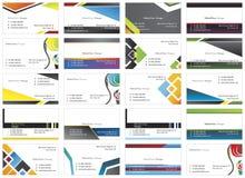 cartes de visite 3 Photographie stock libre de droits