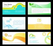 cartes de visite professionnelle de 1 visite Photographie stock libre de droits