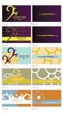 Cartes de visite professionnelle de visite Images libres de droits