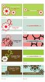 Cartes de visite professionnelle de visite Illustration Stock