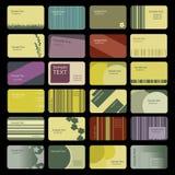 Cartes de visite professionnelle de visite Illustration Libre de Droits