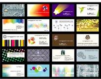 Cartes de visite professionnelle de visite Photos libres de droits