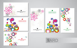 Cartes de visite professionnelle de visite illustration stock