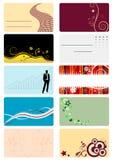 Cartes de visite professionnelle de visite Photo libre de droits