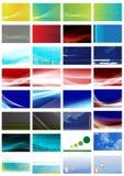 Cartes de visite professionnelle de visite Photo stock