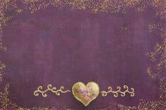 Cartes de voeux d'amants Images libres de droits