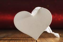 Cartes de voeux de coeurs de jour du ` s de Valentine Images stock