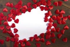 Cartes de voeux de jour du ` s de Valentine Image stock