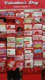 Cartes de voeux de Saint-Valentin Images stock