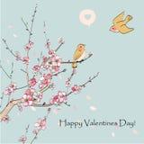 Cartes de voeux du jour de Valentine Image libre de droits