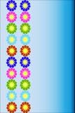 Cartes de voeux florales Photos libres de droits