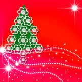 Cartes de voeux, temps de Noël Photo stock