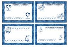 Cartões do feliz aniversario Imagem de Stock