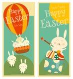 Cartes en liasse de Pâques Image stock