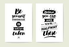 Cartes en liasse de typographie Photographie stock