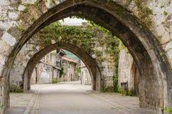 Cartes, la Cantabrie, Espagne Images stock