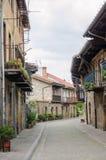Cartes, la Cantabrie, Espagne Photographie stock