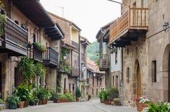 Cartes, la Cantabrie, Espagne Images libres de droits