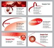 Cartões modernos Imagens de Stock
