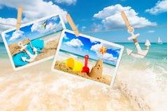 Cartes postales d'été Photographie stock