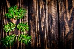 Cartes postales de bonne année et de Joyeux Noël Photos libres de droits